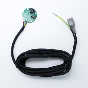 Custom Encoder and wiring harness for servo motor-B0200322